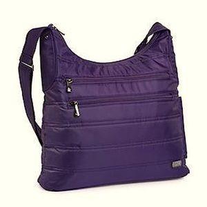 Lug Cable Car Crossbody Bag in Purple